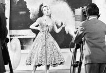 Пола Дежарден учасница евровидения 1957 года из Франции